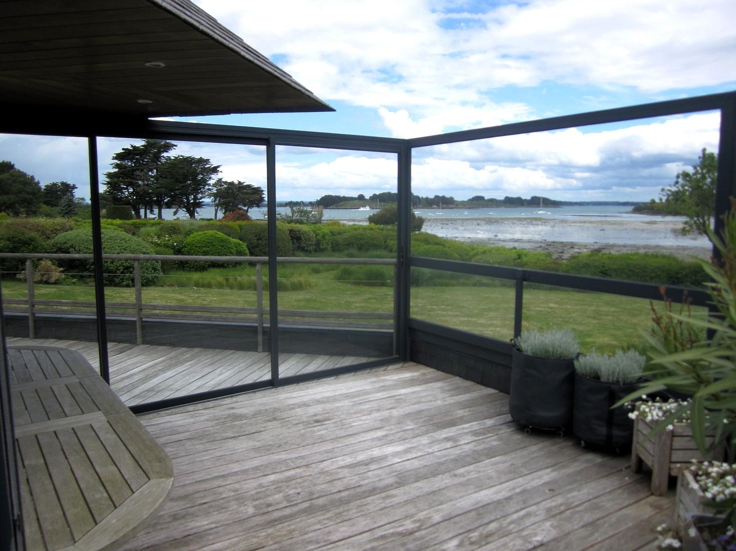 Coupe vents bor al ouvertures sarzeau surzur et vannes - Pare vent terrasse ...