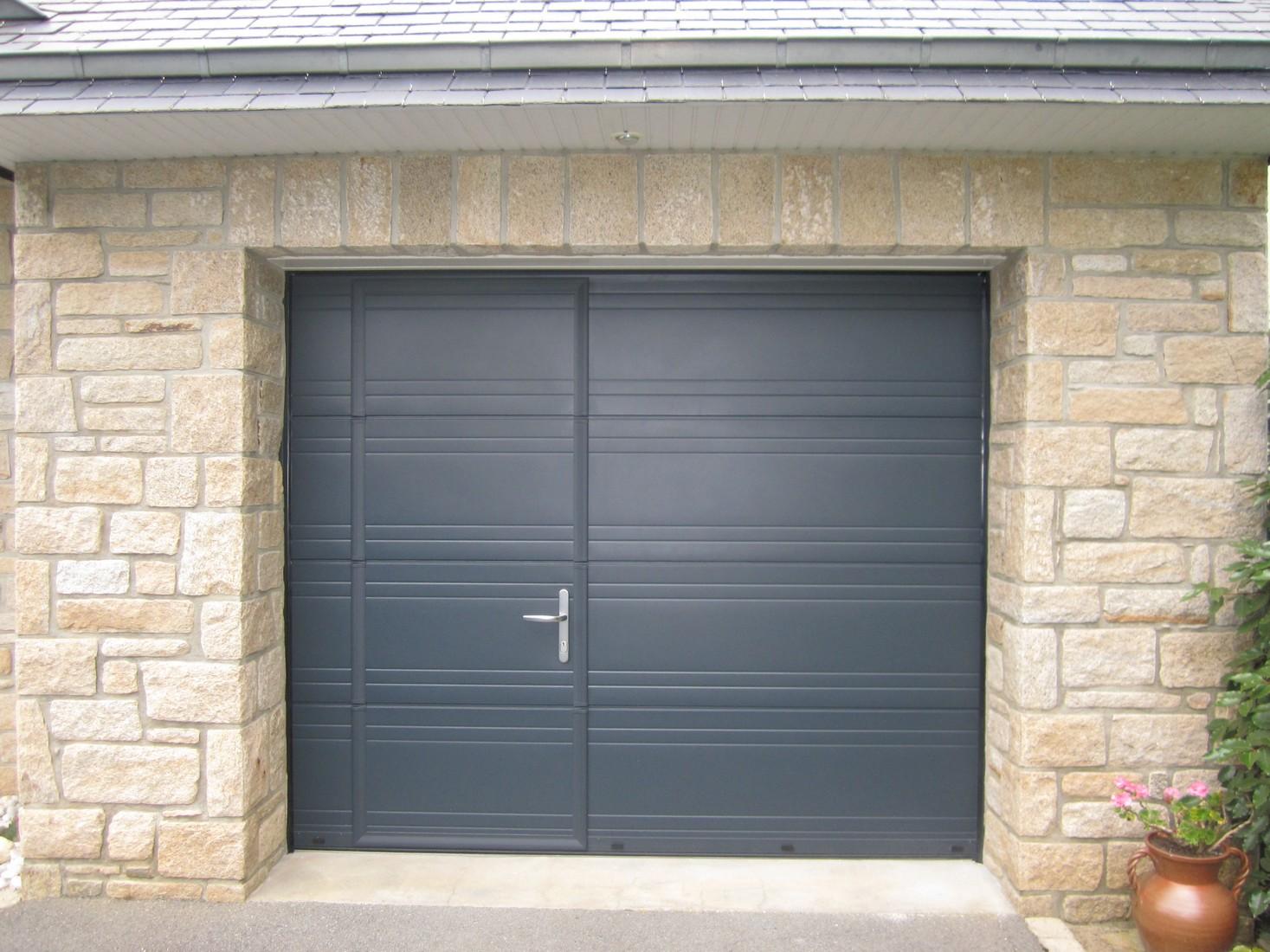 porte de garage boreal ouvertures le hezo vannes 56. Black Bedroom Furniture Sets. Home Design Ideas