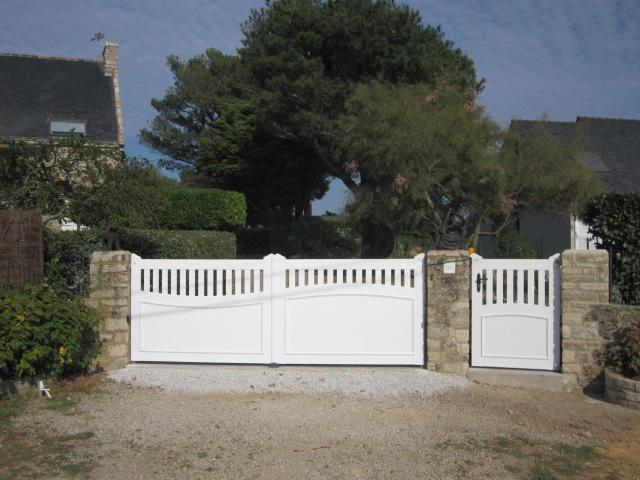 Portail / porte de garage